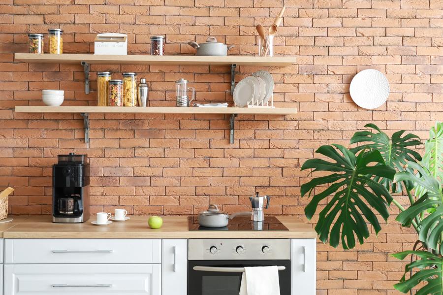 """Decoração de casa no estilo """"Friends"""": parede de tijolo"""