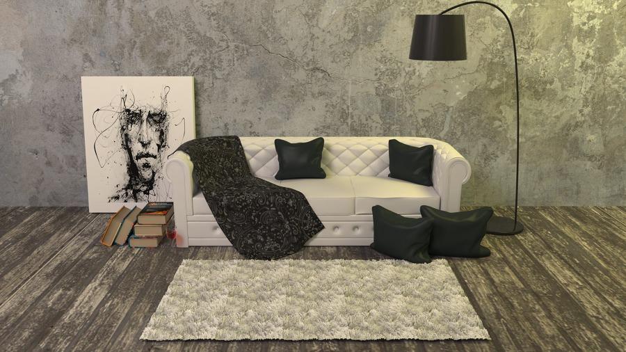 """Decoração de casa no estilo """"Friends"""": sofá"""