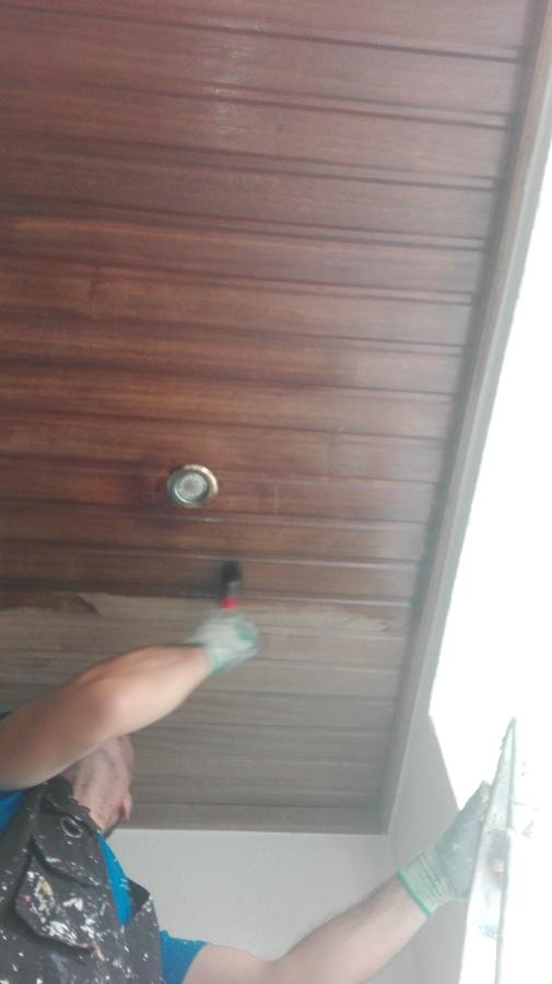 Envernizamento de teto exterior