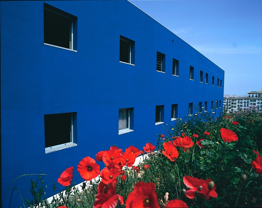 Fachada do bloco Azul