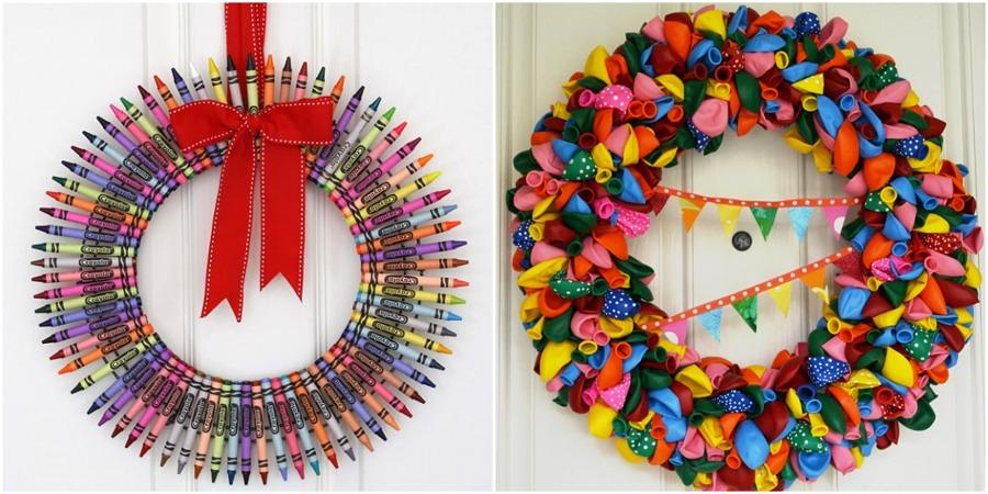 ideias criativas para decoracao de interiores : ideias criativas para decoracao de interiores:Ideias Criativas para Criar Guirlandas de Natal