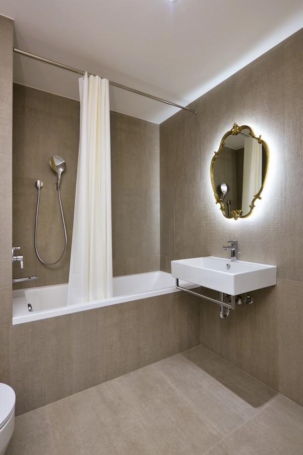 Iluminação indireta em casas de banho
