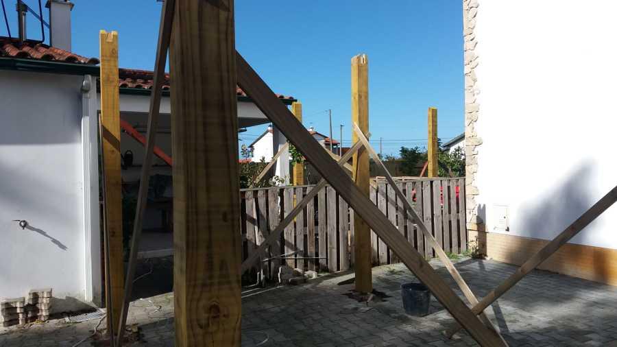 Inicio da construção