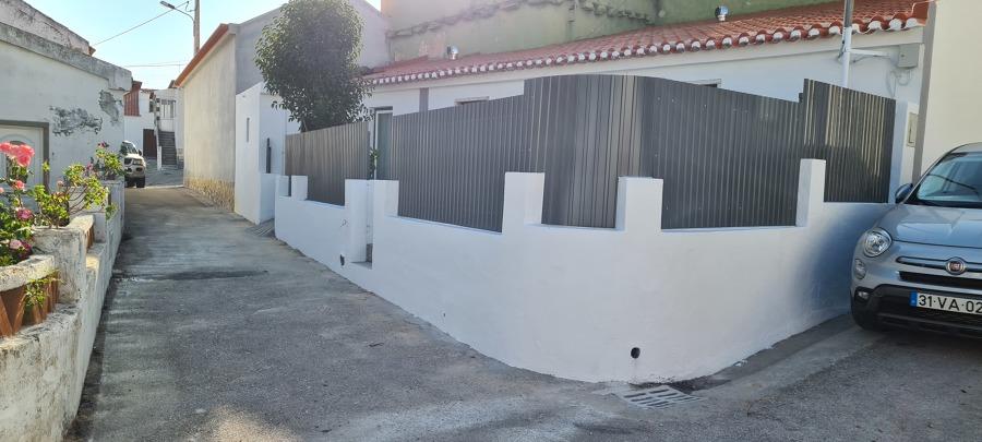 Instalação de chapa galvanizada