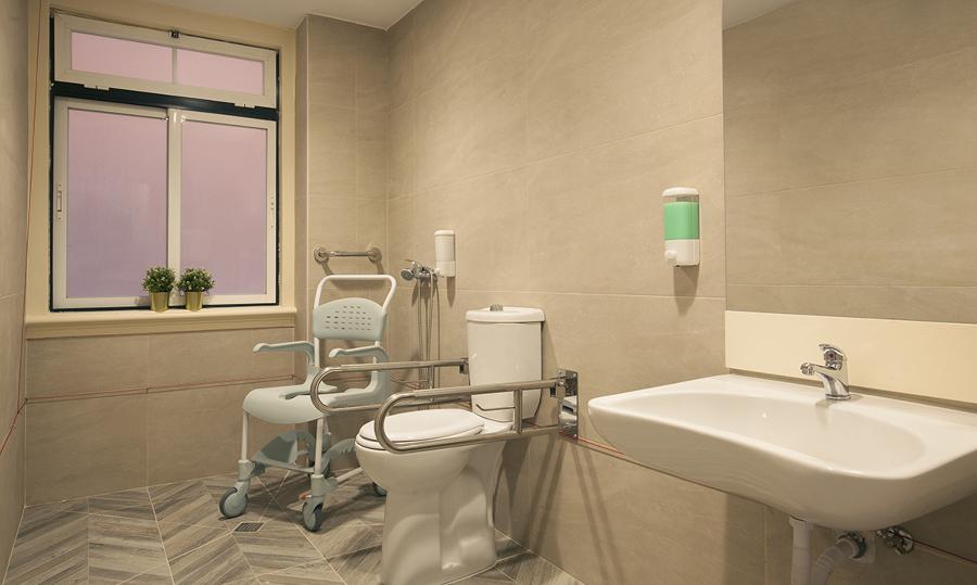 Instalação Sanitária de Utentes