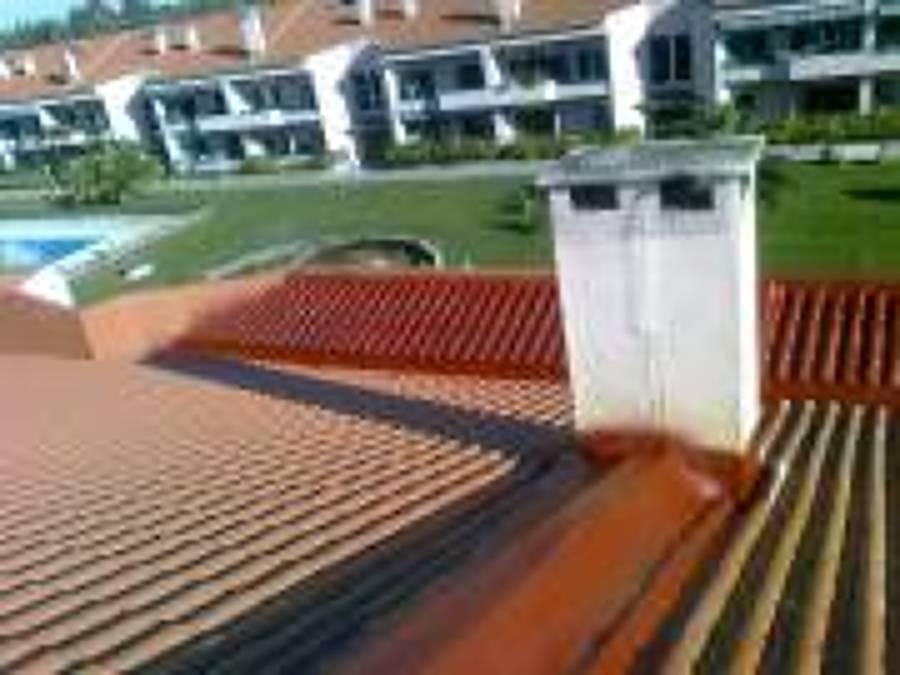 Isolamento de telhado, beirado e caleiras em condominio fechado