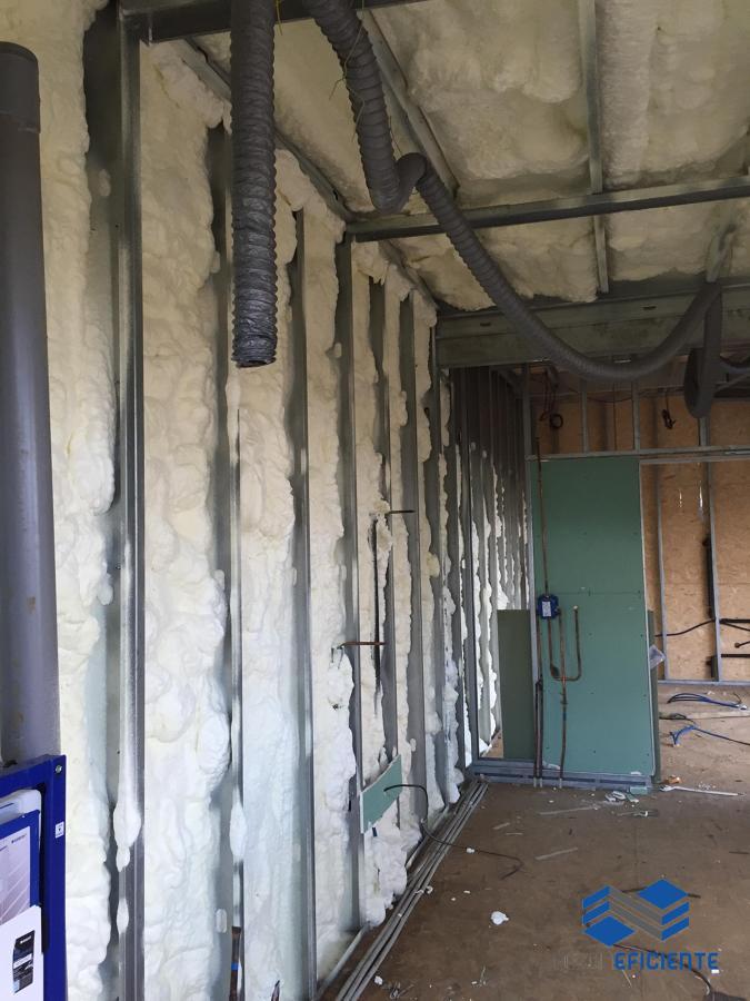 Isolamento termico - espuma ecológica