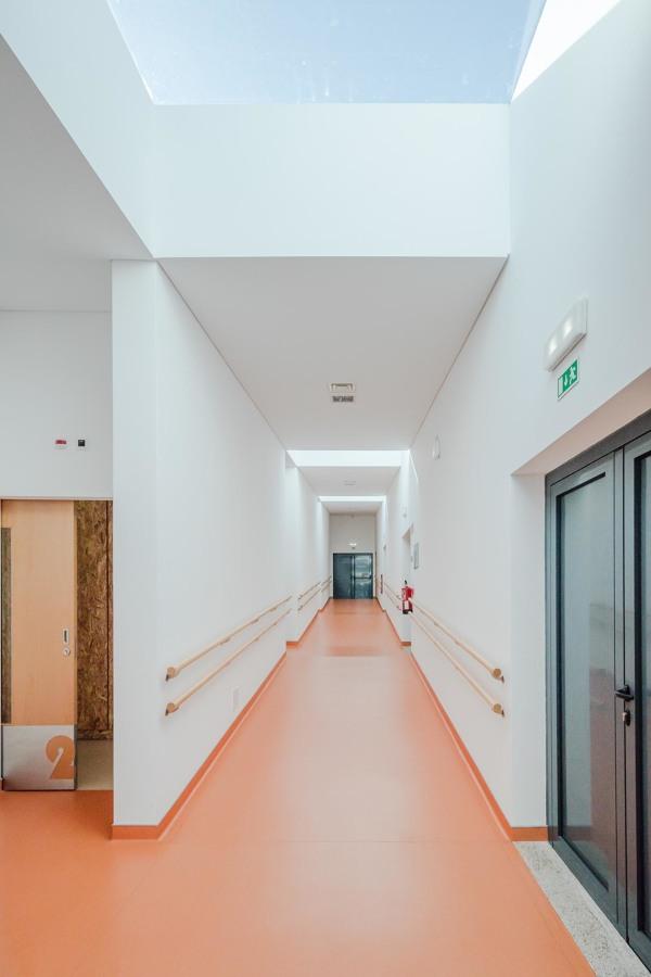 Lar - corredor dos quartos.