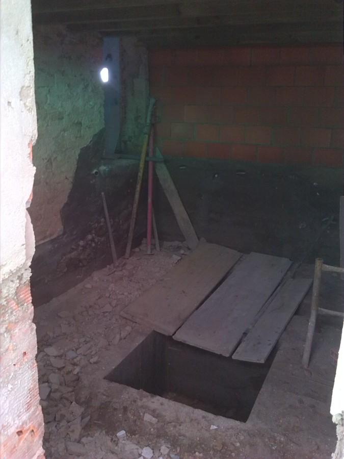 Lavandaria antes