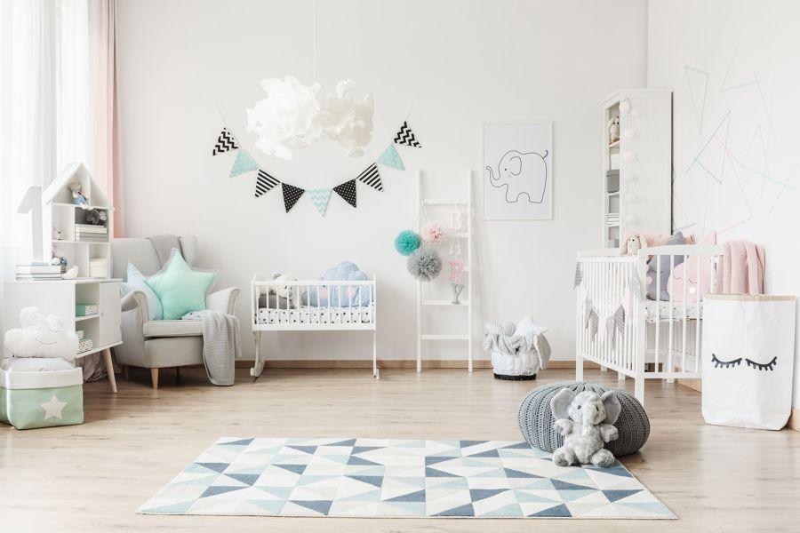 limpeza quarto bebe