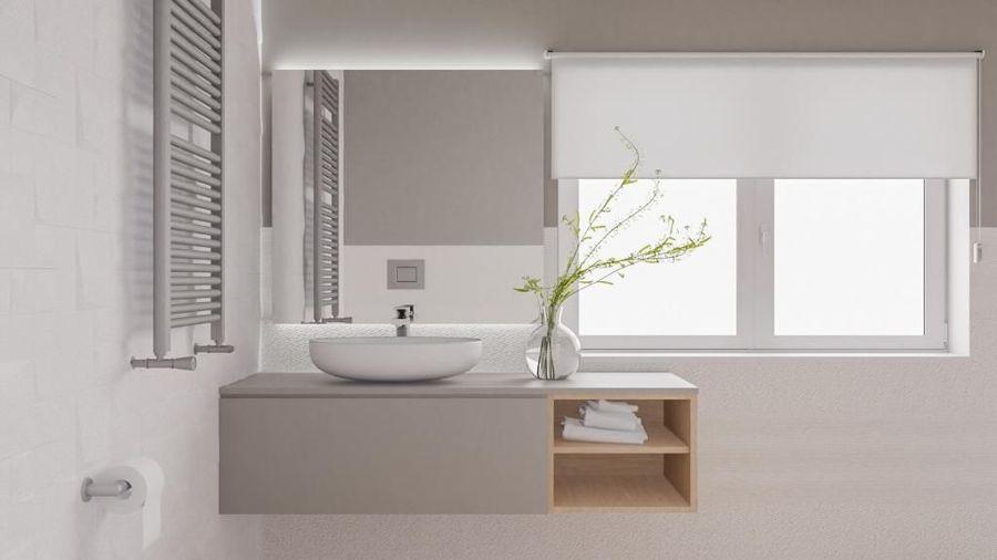 luz na casa de banho