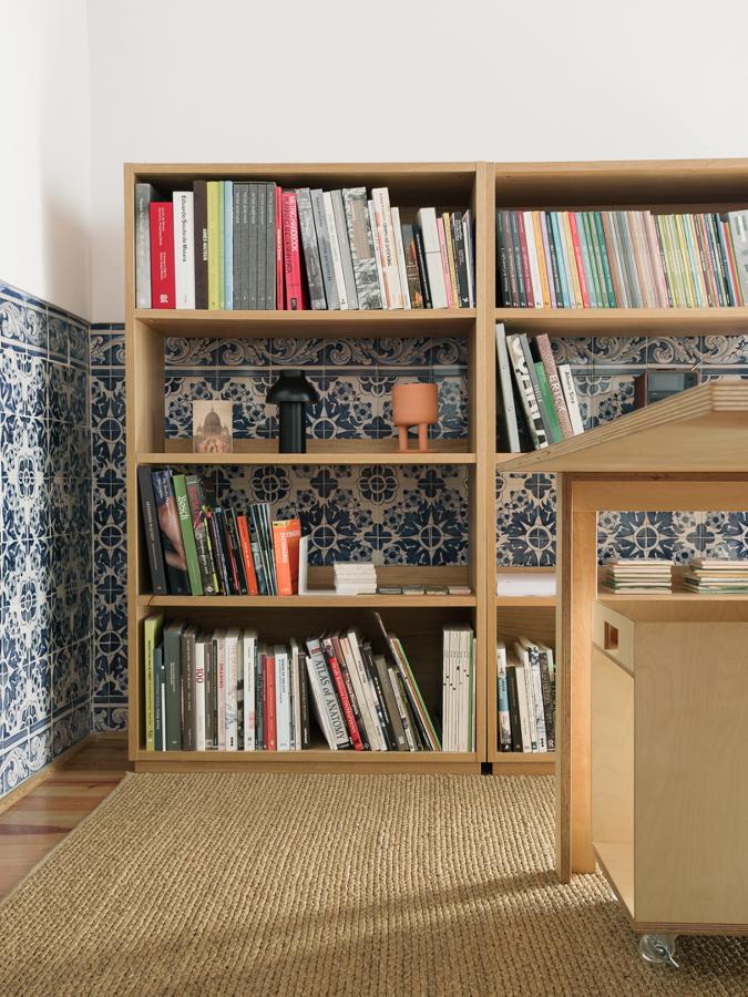 Mobiliário do ateliê