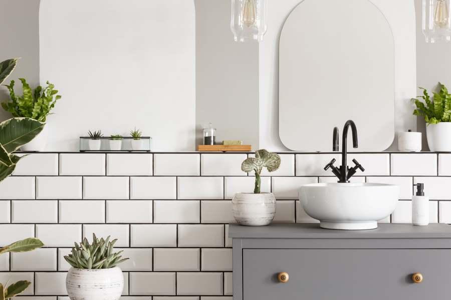 Mudar os azulejos em casa