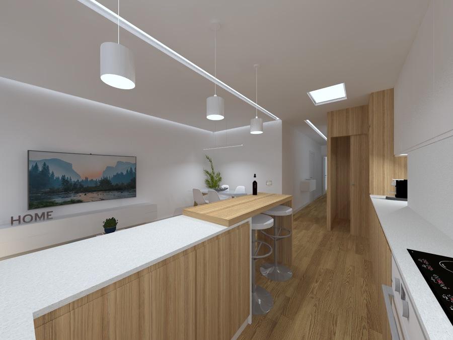 Perspectiva 1 - Vista Cozinha