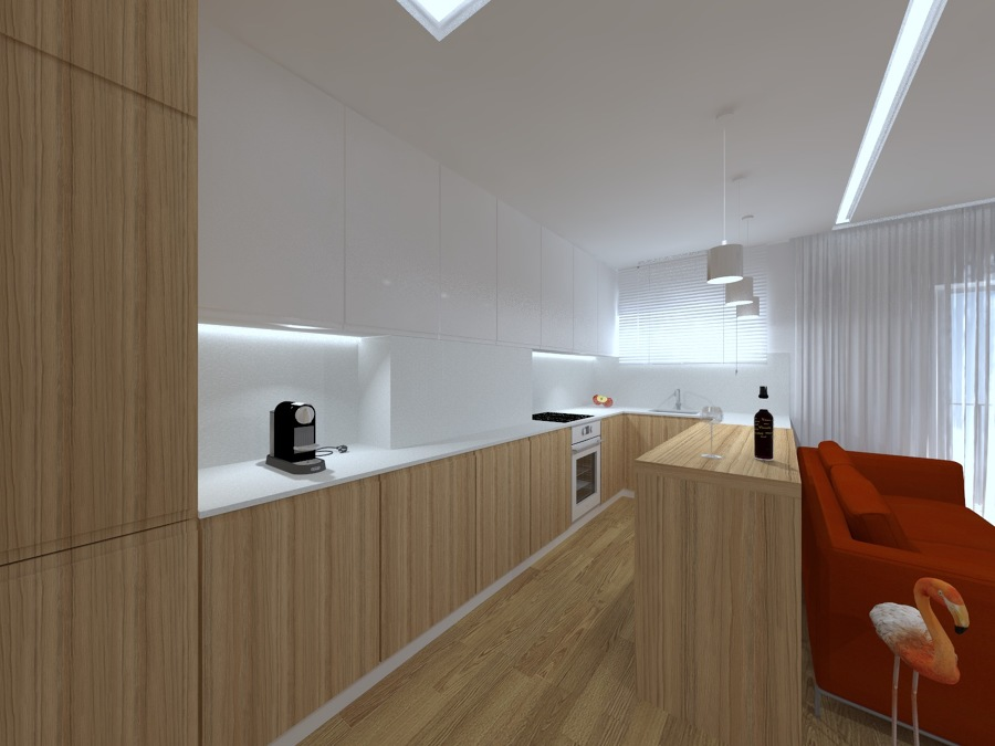 Perspectiva 2 - Vista Cozinha