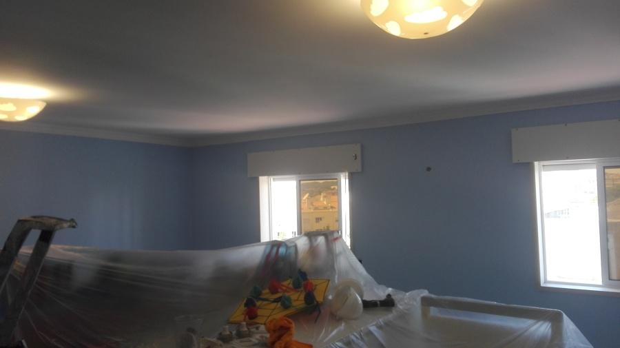 Pintura em quarto
