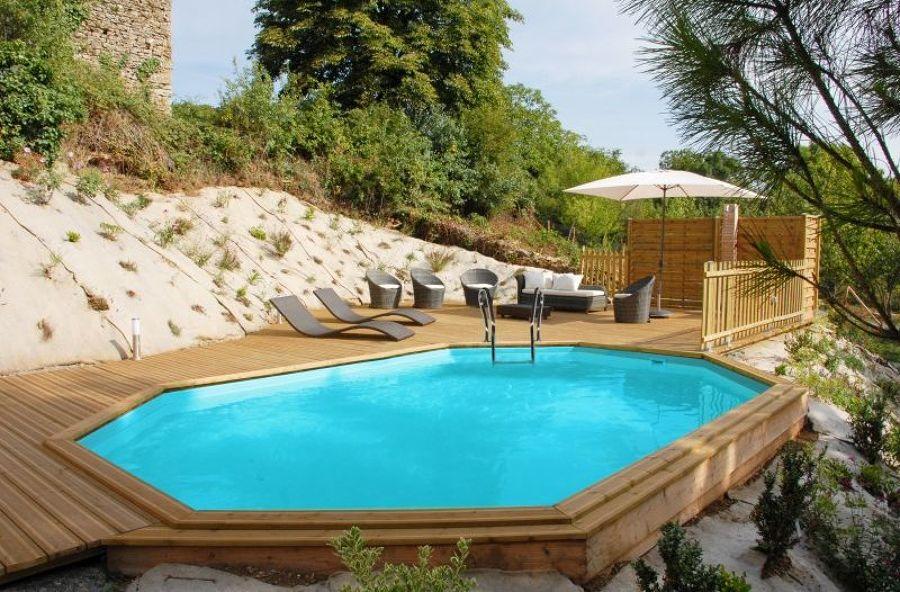 Piscinas de madeira ideias constru o piscinas for Piscinas semienterradas