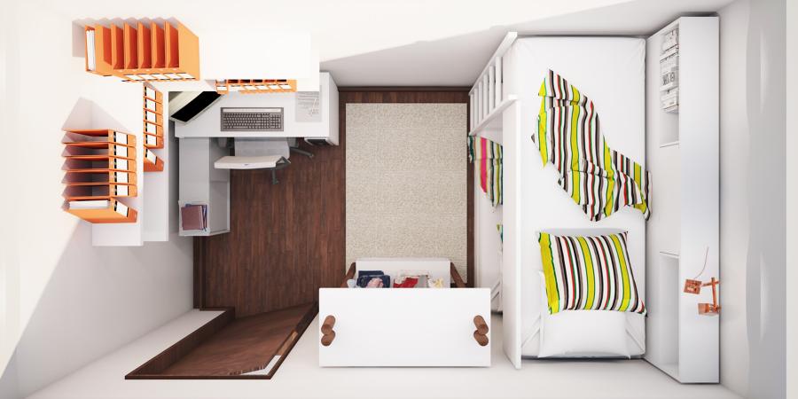 Planta do compartimento- criação de quarto