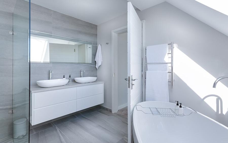 Pós limpeza casa de banho