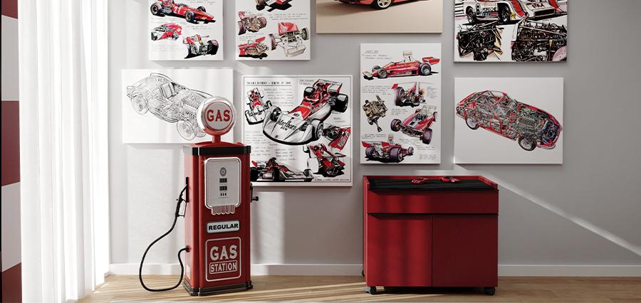 Quarto Ferrari_ Vista de Frente