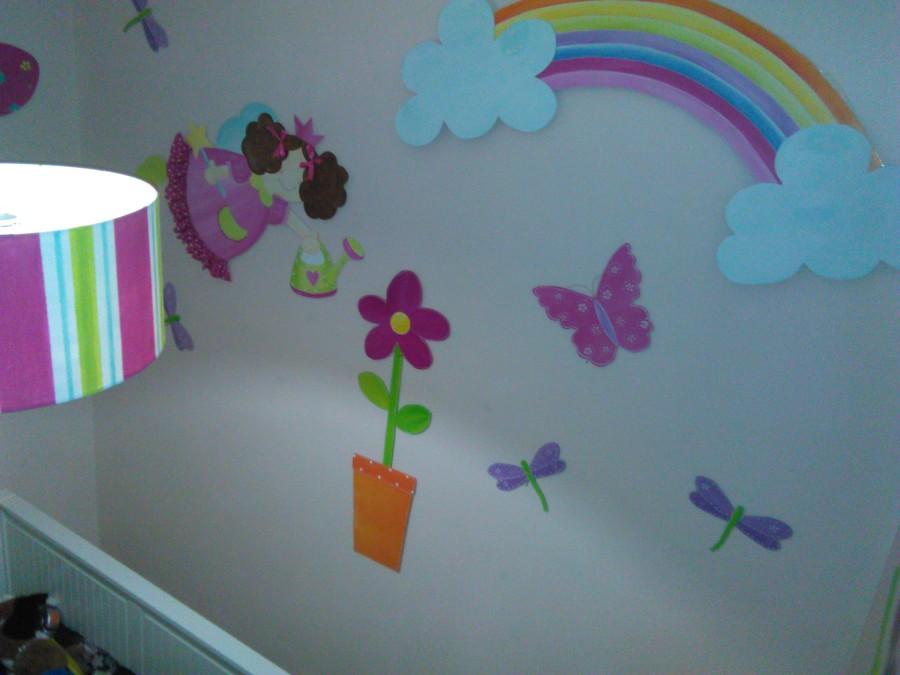quarto infantil de menina em craft