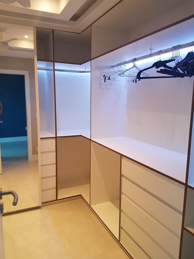 Remodelação apartamento - CLOSET