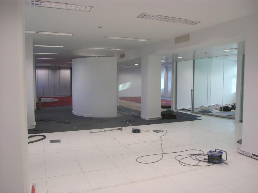 renovação de escritorio