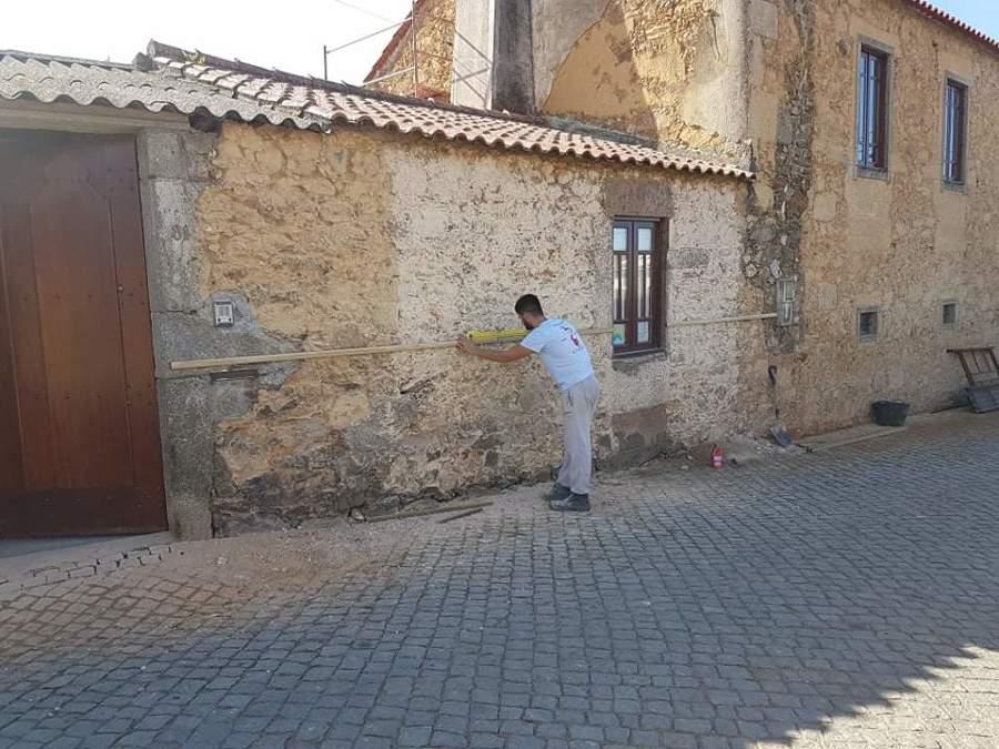 Renovação total de exterior da casa