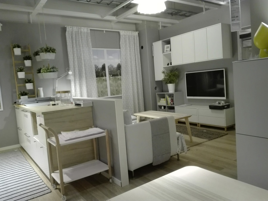 Roomsetting com openspace