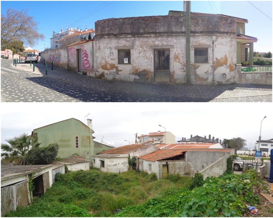 Ruinas Existentes - Frente a Preservar