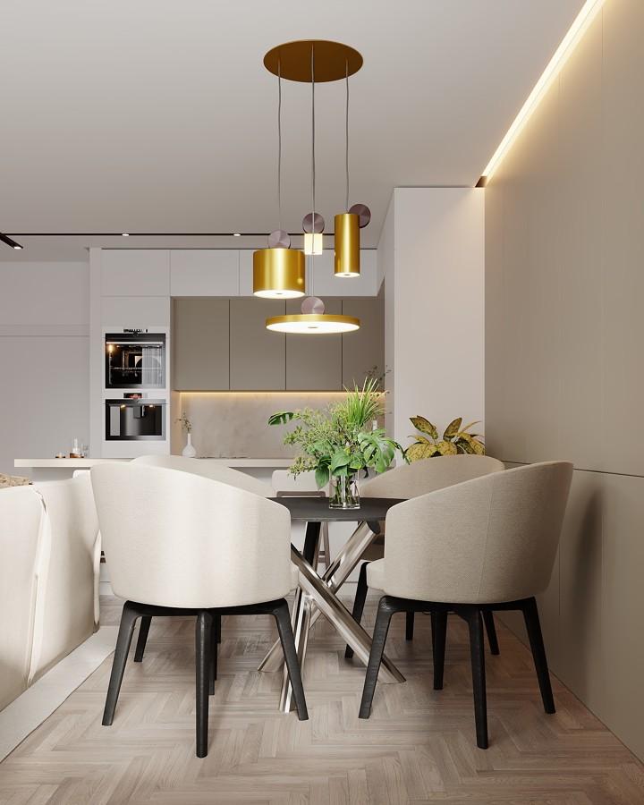 Sala de jantar e kitchenette
