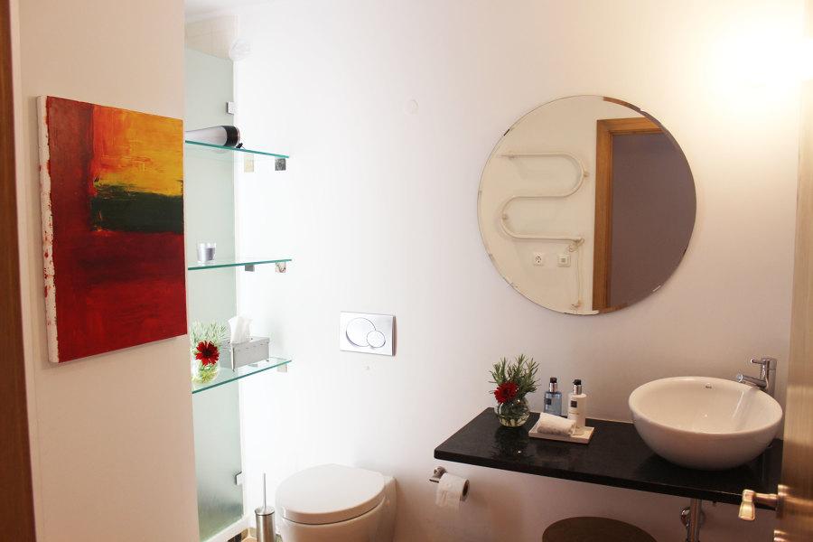 Um pouco de arte na casa de banho