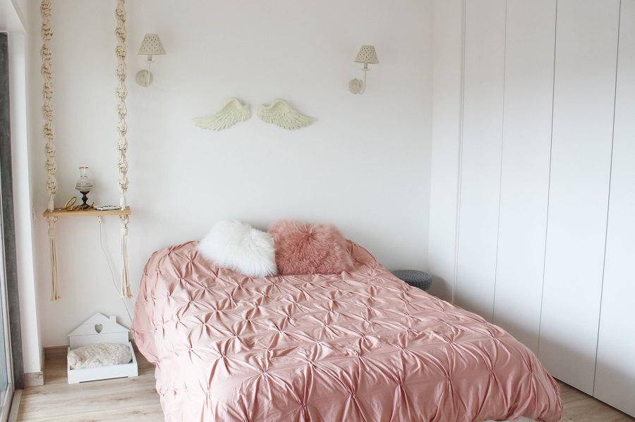 Um verdadeiro quarto de princesa