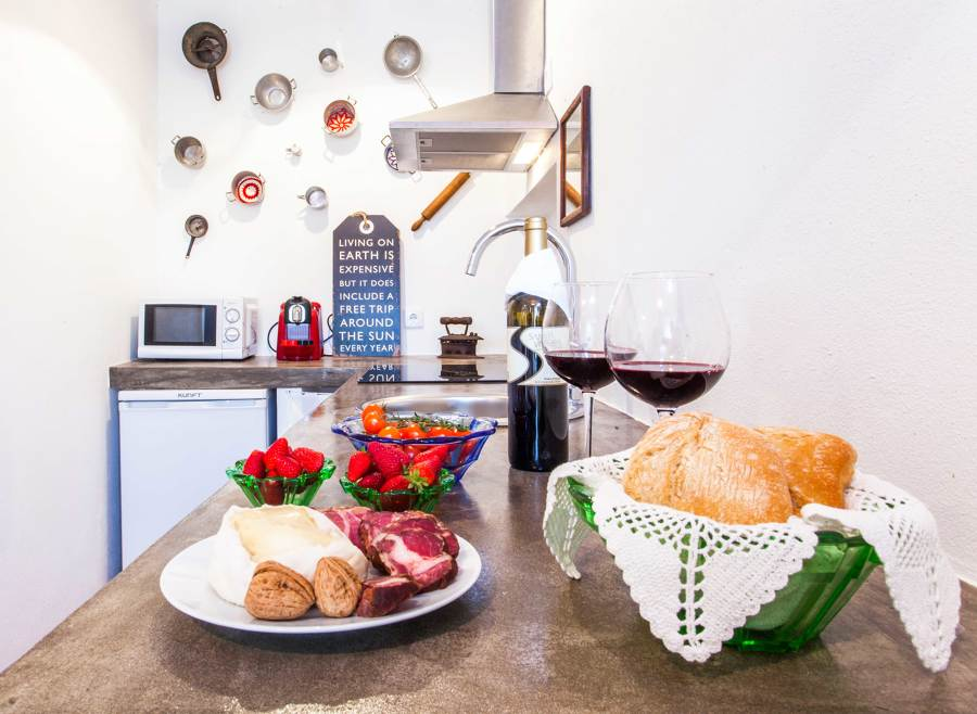 Uma cozinha com alma