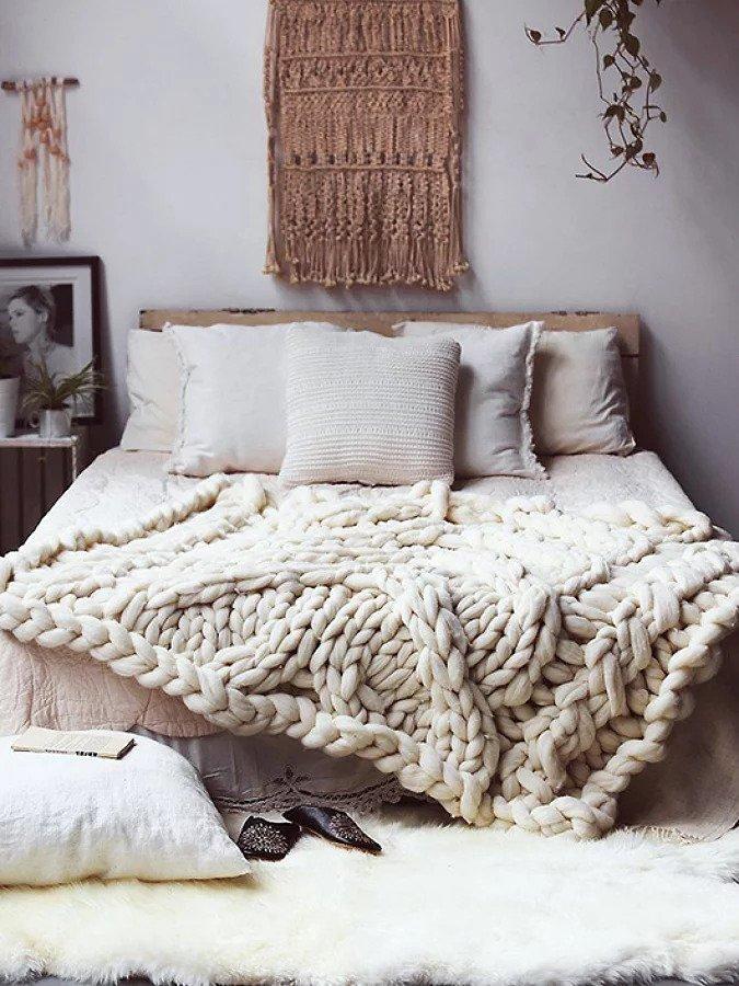 Use têxteis em casa
