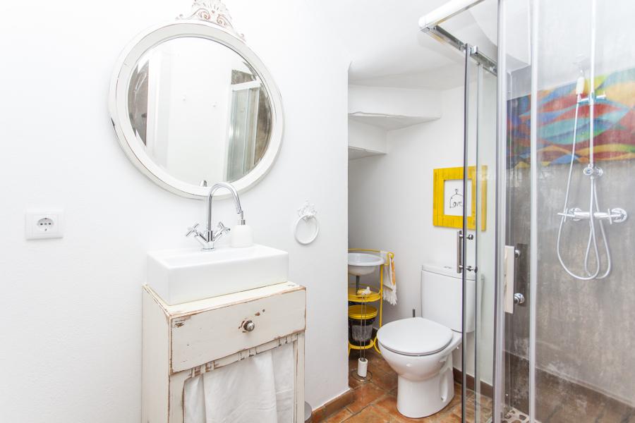Visão geral da casa de banho