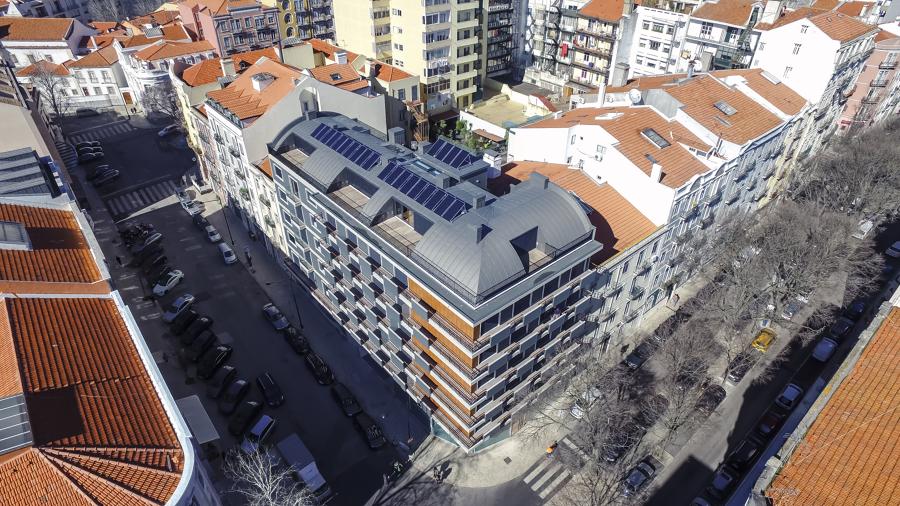 Visão geral do edifício
