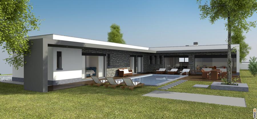 Casas modulares t3
