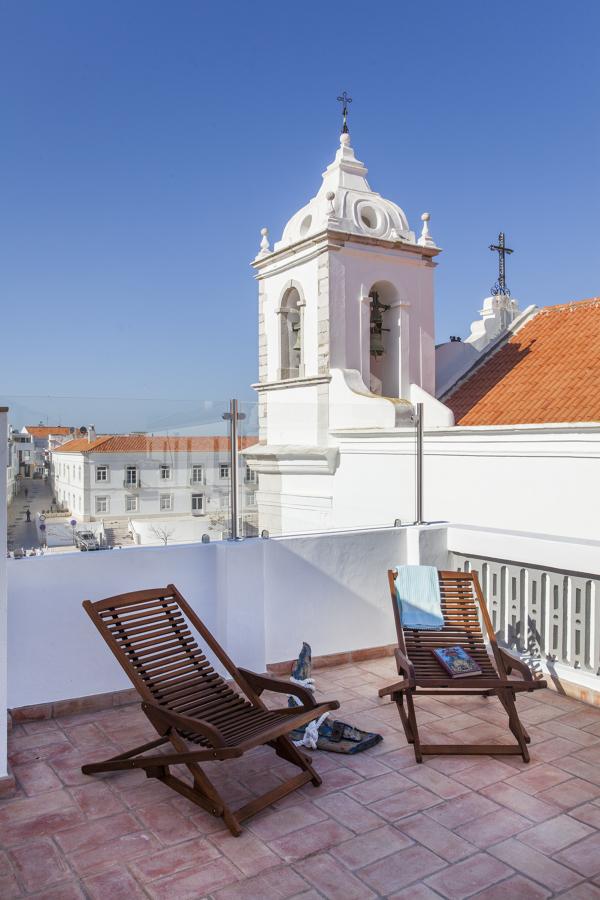 Vista para a Igreja do terraço