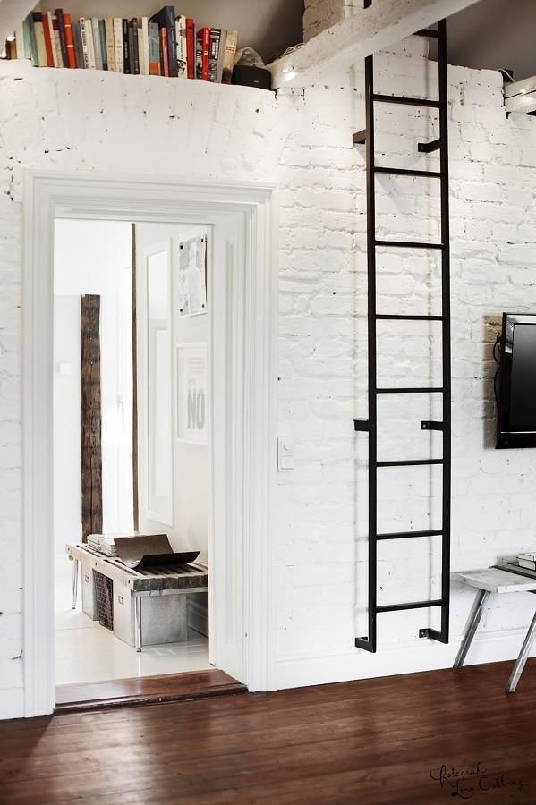 escada de zinco