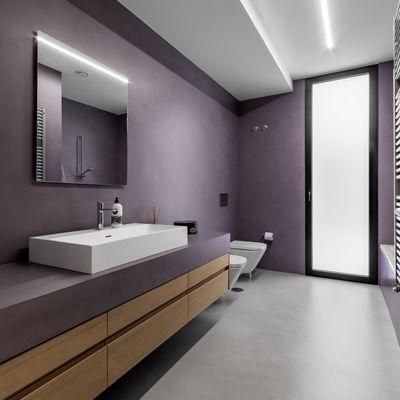 7 ideias para reformar uma casa de banho graças ao micro-cimento