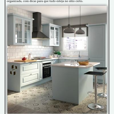Organize a sua nova cozinha!