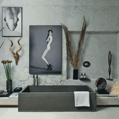 10 razões para adorar as casas de banho de micro-cimento