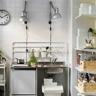 7 cozinhas pequenas e muito arrumadas