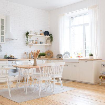 10 Cozinhas monocromáticas e fantásticas que vai amar