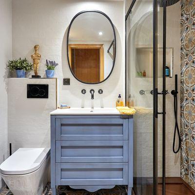 10 casas de banho rústicas que merecem nota 10