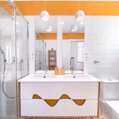 4 cores para pintar a sua casa de banho e sair da rotina