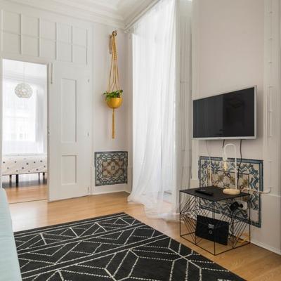 O antes e o depois de uma remodelação de apartamento na Baixa de Lisboa