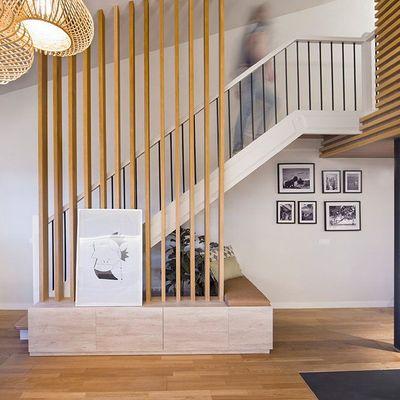 Ripado de madeira na decoração: inspiração e ideias