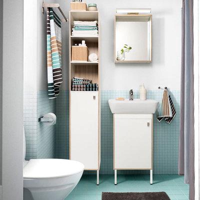 Como conseguir uma casa de banho (pequena) de revista